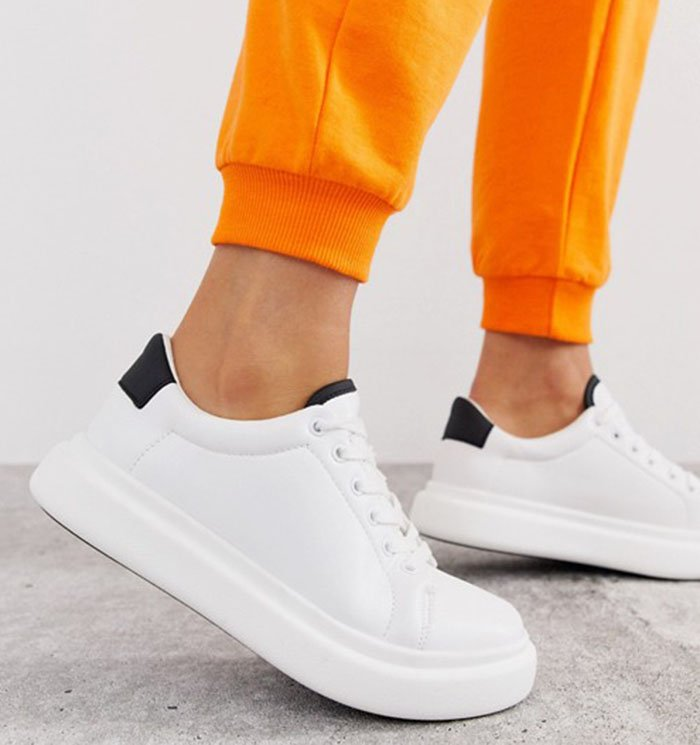 Affordable but chic, the Asos Doro shoes feature contrasting cuffs and chunky soles