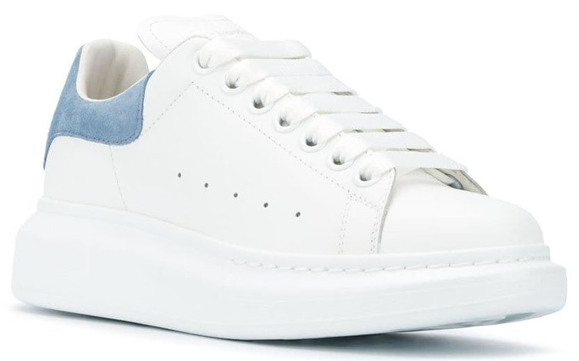 Featuring chunky soles, these Alexander McQueen sneakers are guaranteed to increase your height and amp up your style
