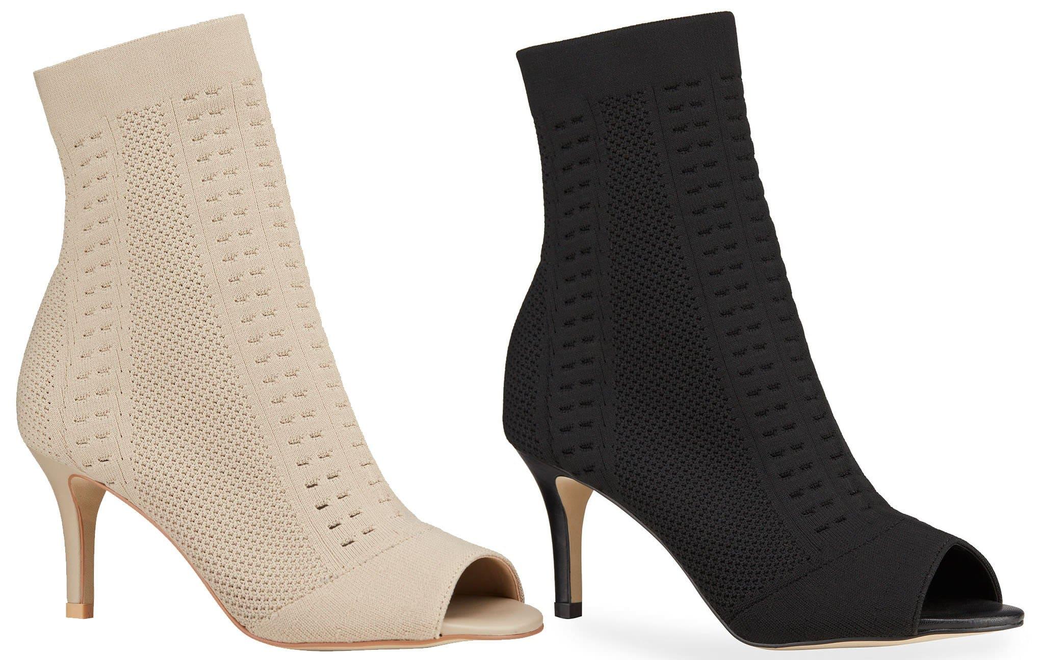 Minimalist stretch-knit ankle sock booties, like the Allegra James Lina, will give a chic seamless look