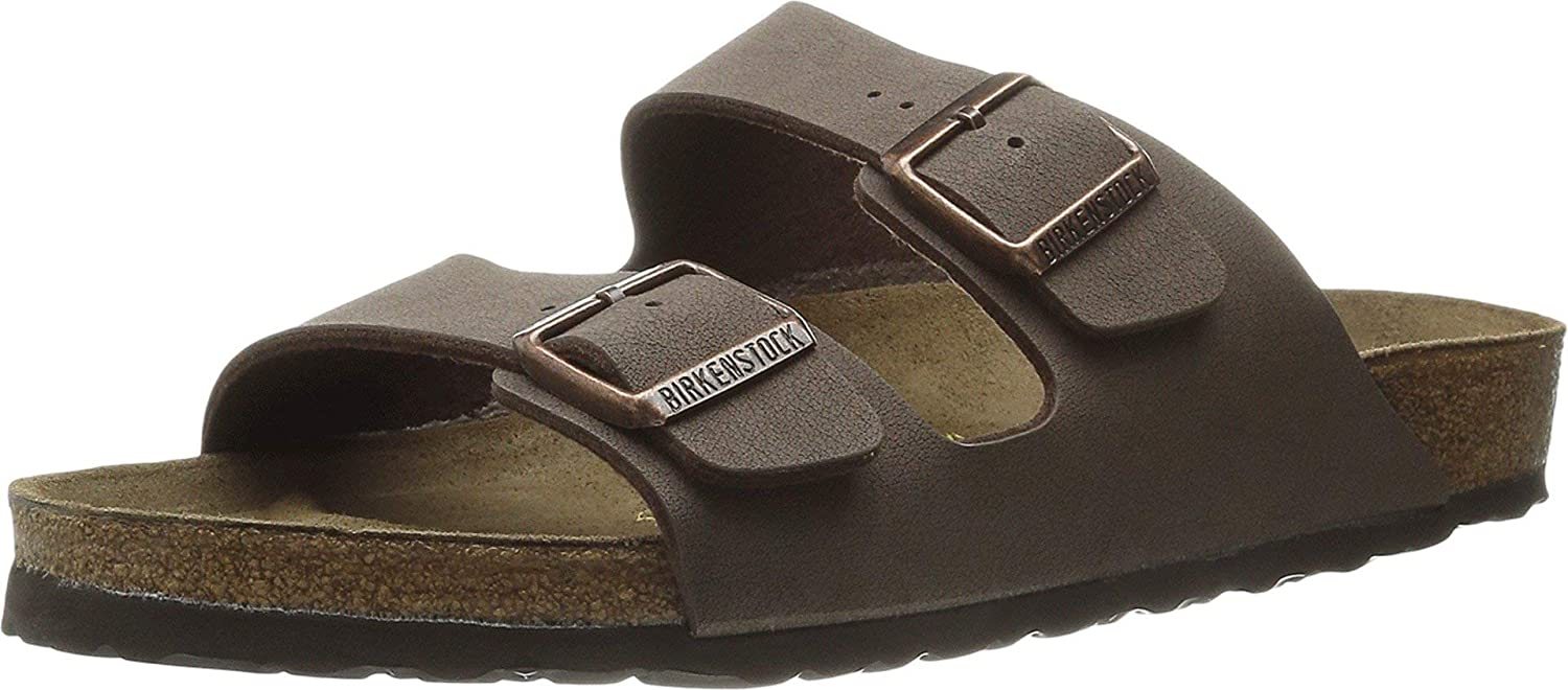 Birkenstock's most popular sandal is available in narrow sizes and in multiple colorways
