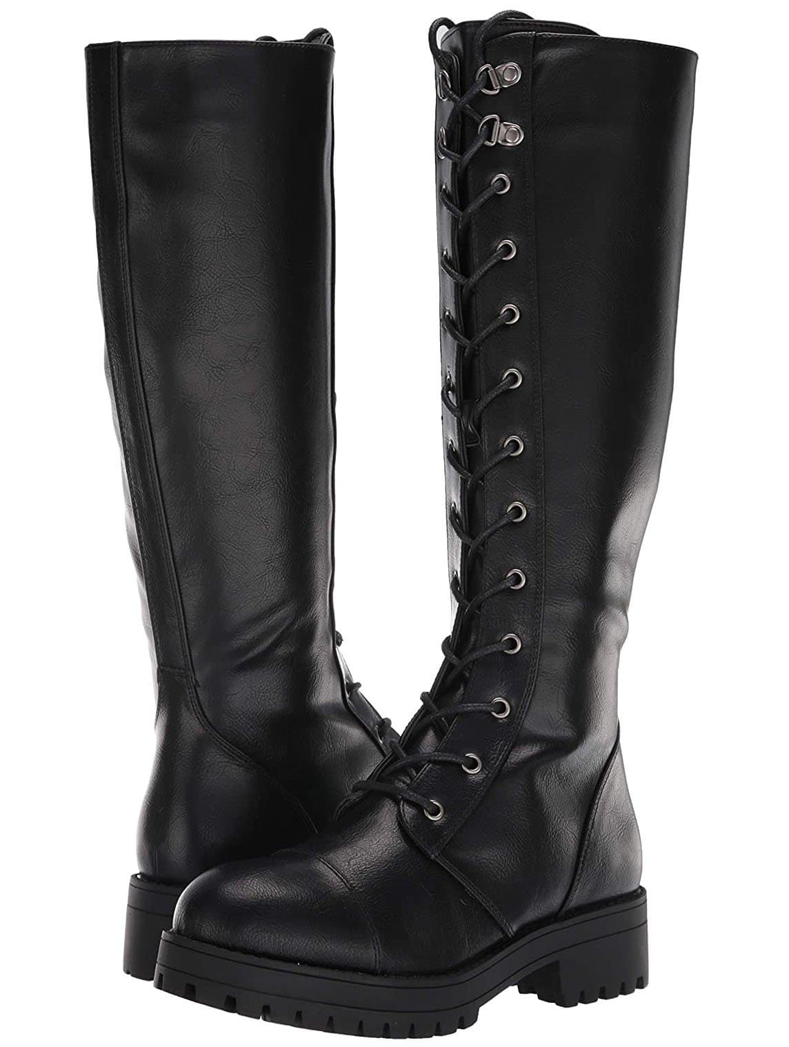Dirty Laundry's Vandal is both tough and sexy, thanks to its knee-high combat boot silhouette
