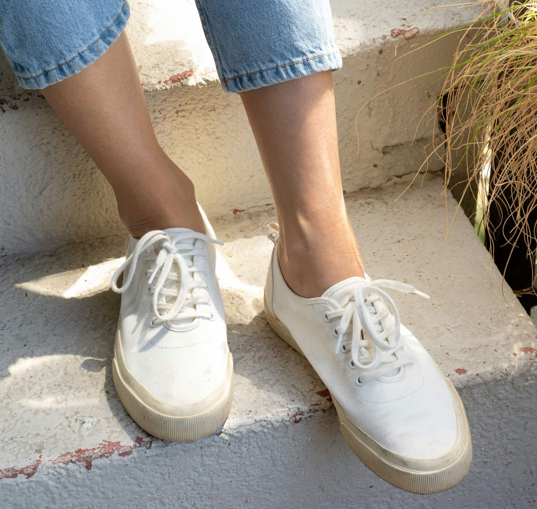 Wear the machine-washable Forever shoes with just about anything in your closet