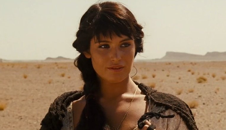 Gemma Arterton worked with a trainer to lose weight for her role as Tamina in Prince of Persia: The Sands of Time
