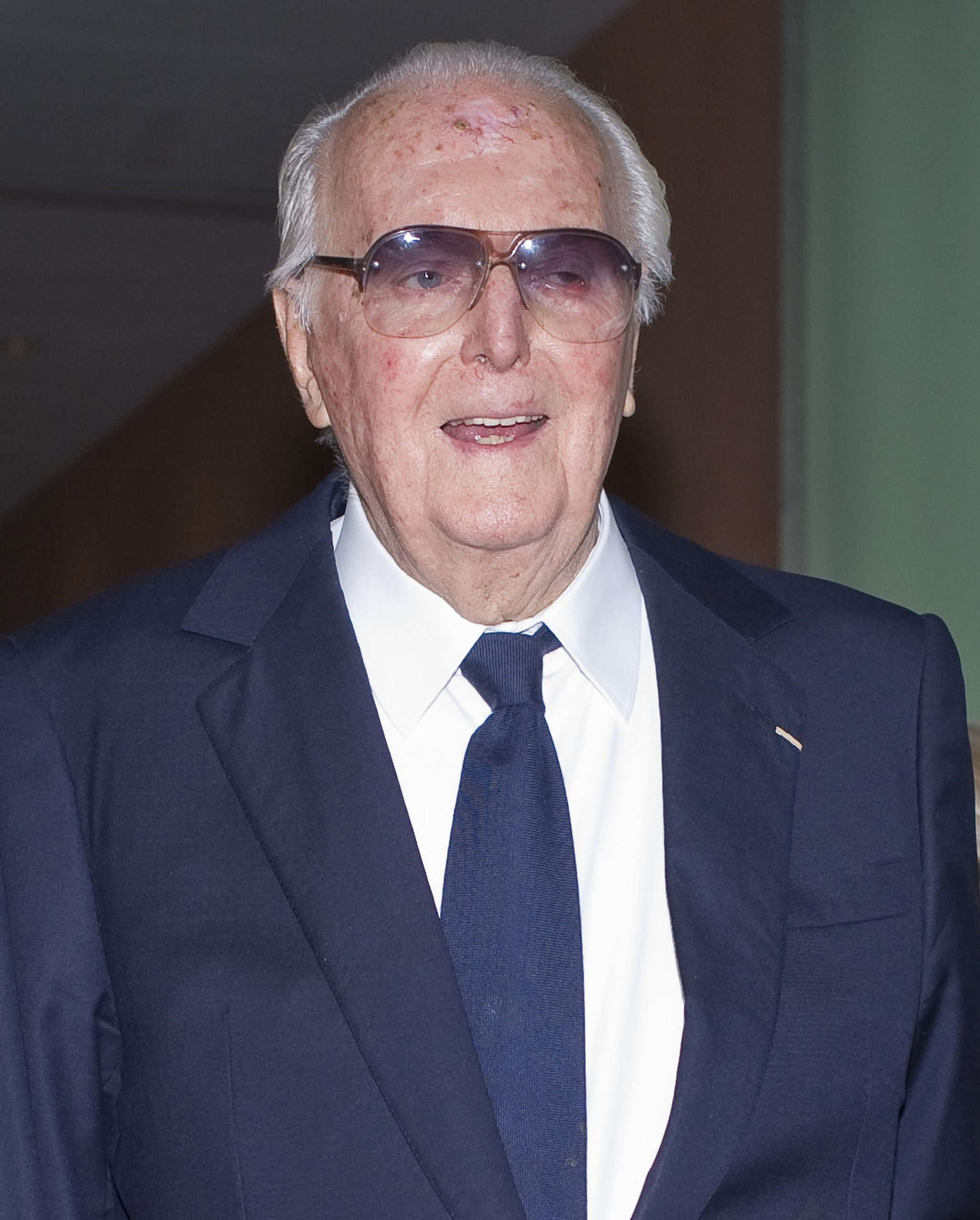 Hubert de Givenchy attends Vanity Fair cocktail party at Museum Thyssen