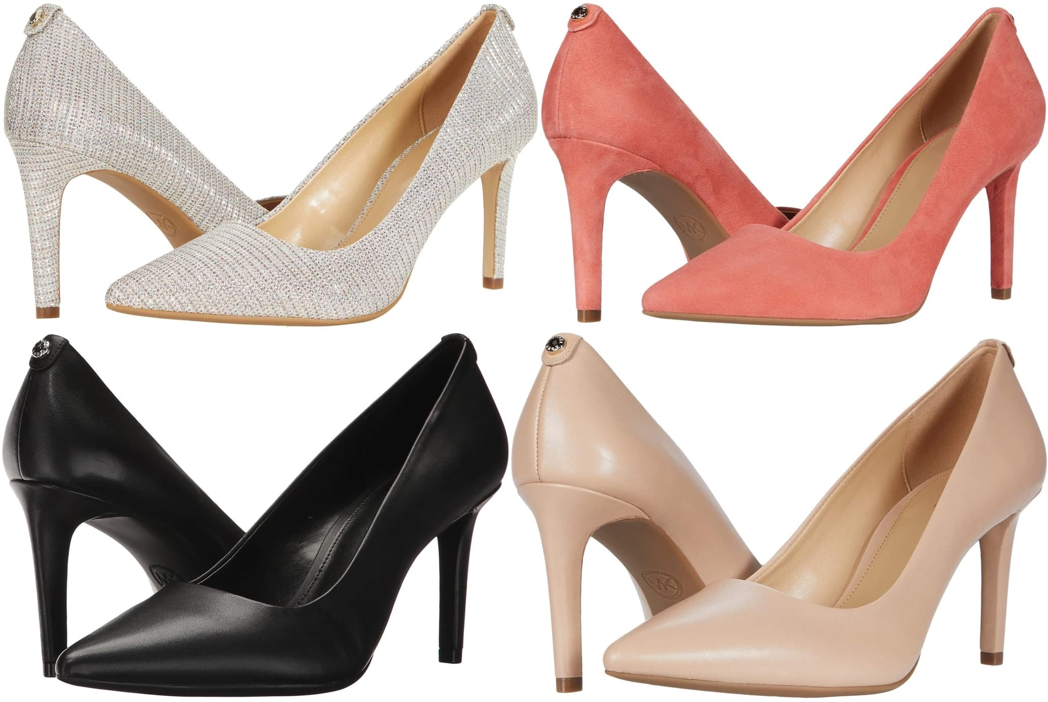 Timeless styling and the enhanced comfort of a flexible, padded footbed make this pointy-toe pump a go-to favorite