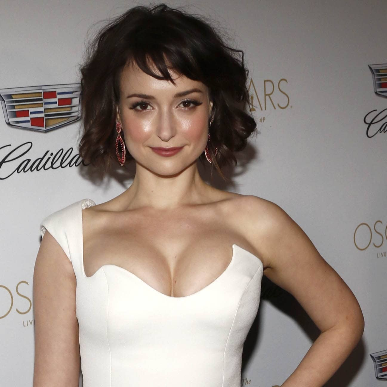 Milana Vayntrub has been bombarded with messages about the size of her boobs