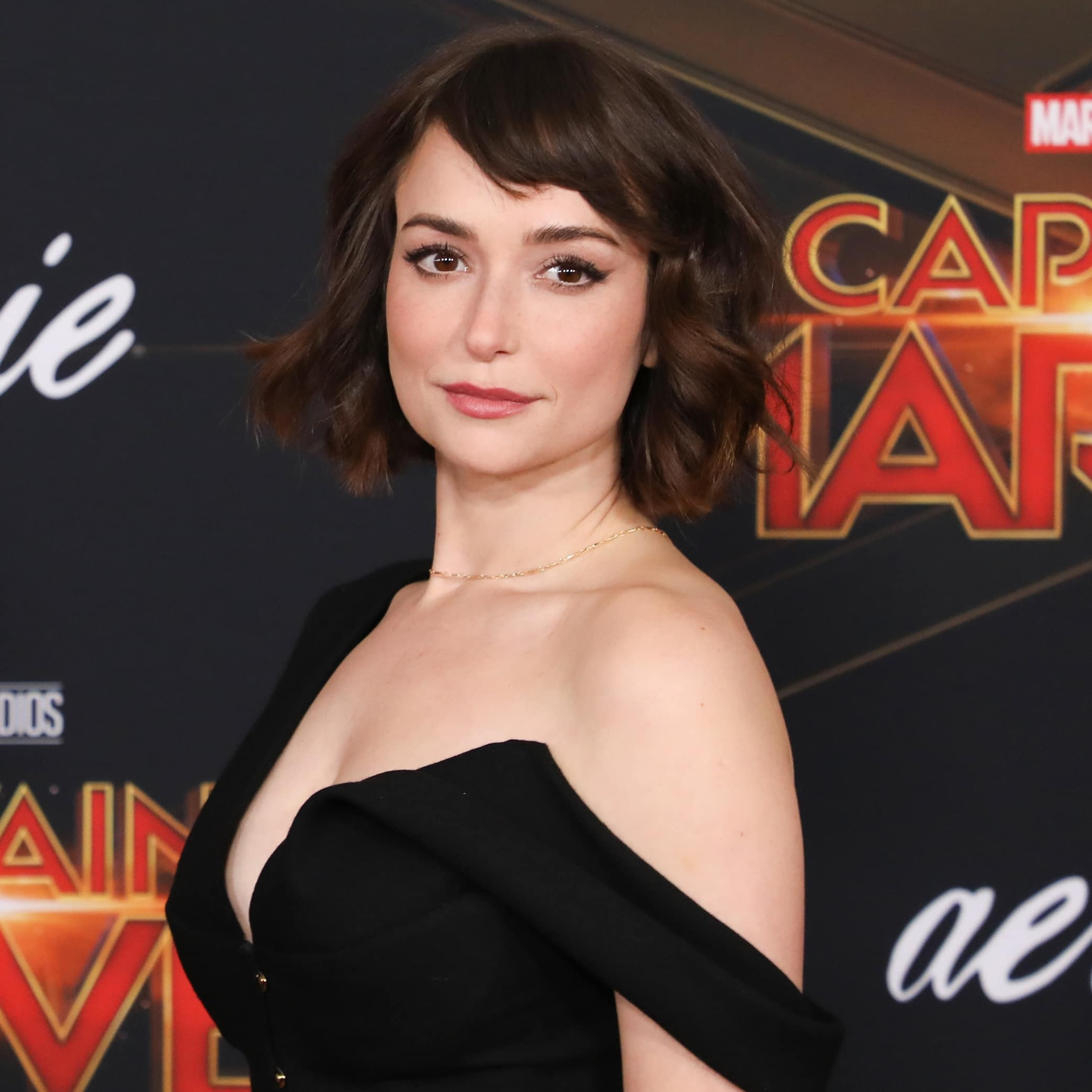 The internet has memeified Milana Vayntrub's breasts and she has spoken out against online sexual harassment