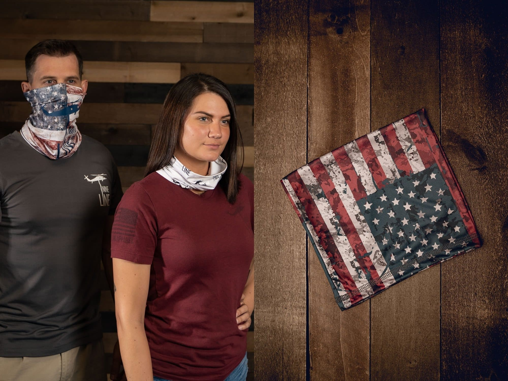 Excellent for indoor use as a quick face cover to reduce the spread of germs, and for the outdoors as a headband, neck cover, dust cover, and more