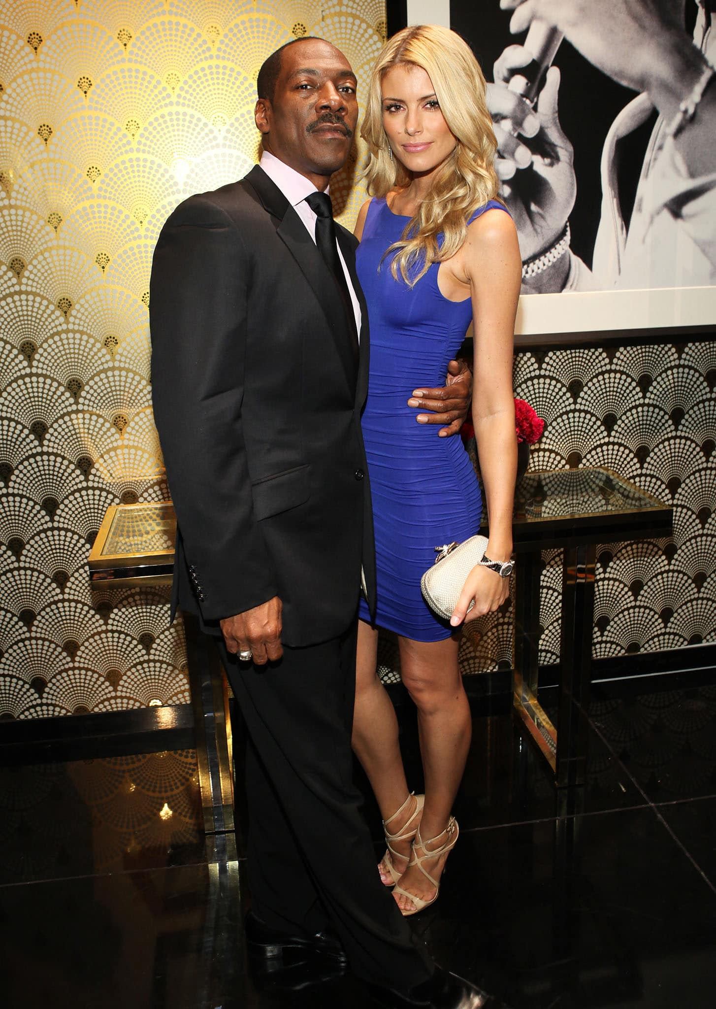 Eddie Murphy and Paige Butcher make their relationship public at Spike TV's Eddie Murphy: One Night Only tribute on November 3, 2012