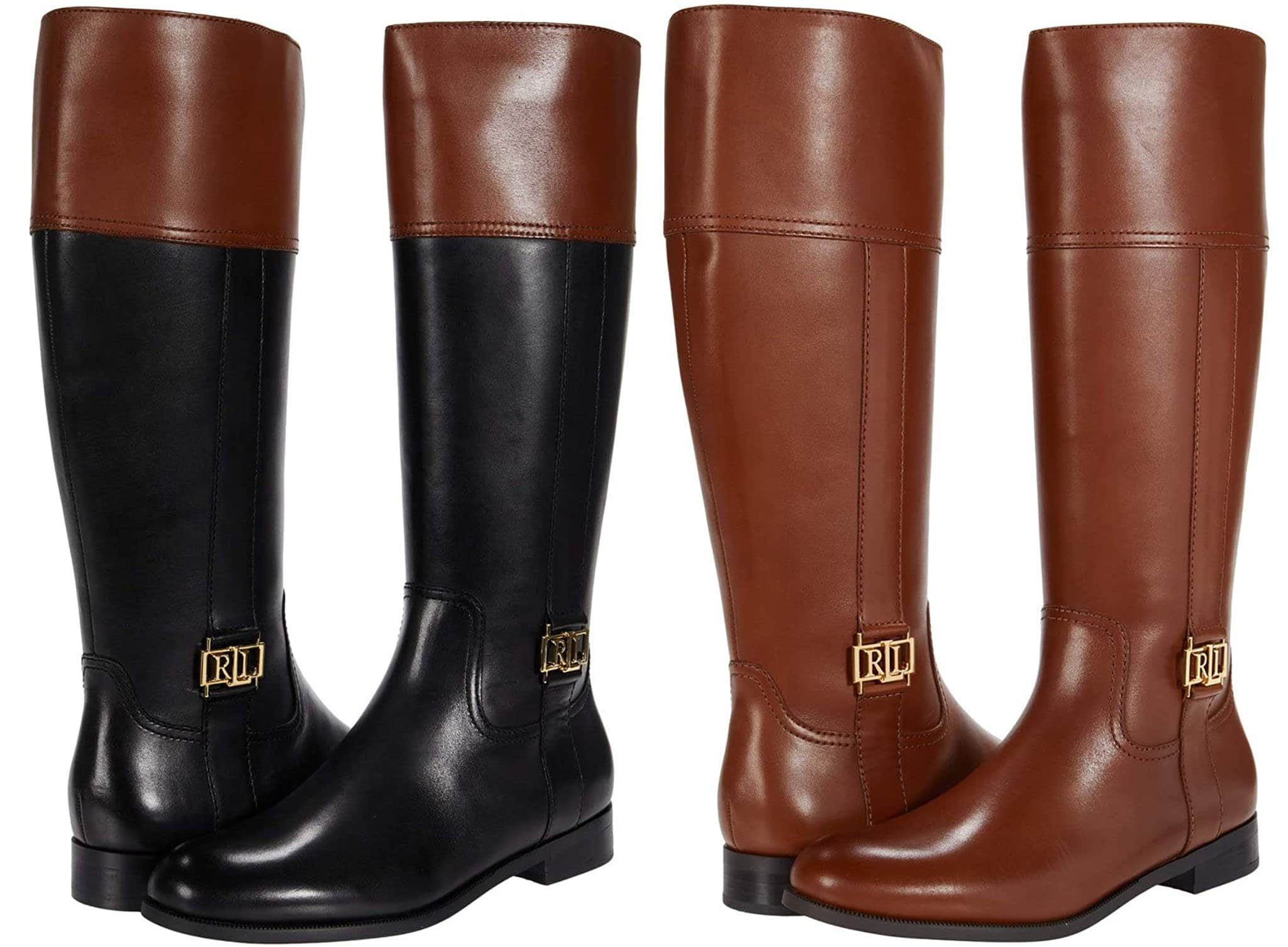 These boots are also available in black/deep saddle brown and deep saddle brown colorways