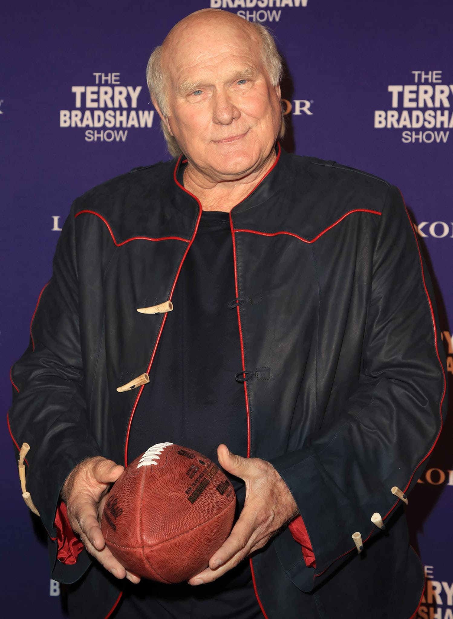 Terry Bradshaw at The Terry Bradshaw Show at Luxor Hotel and Casino on August 2, 2019