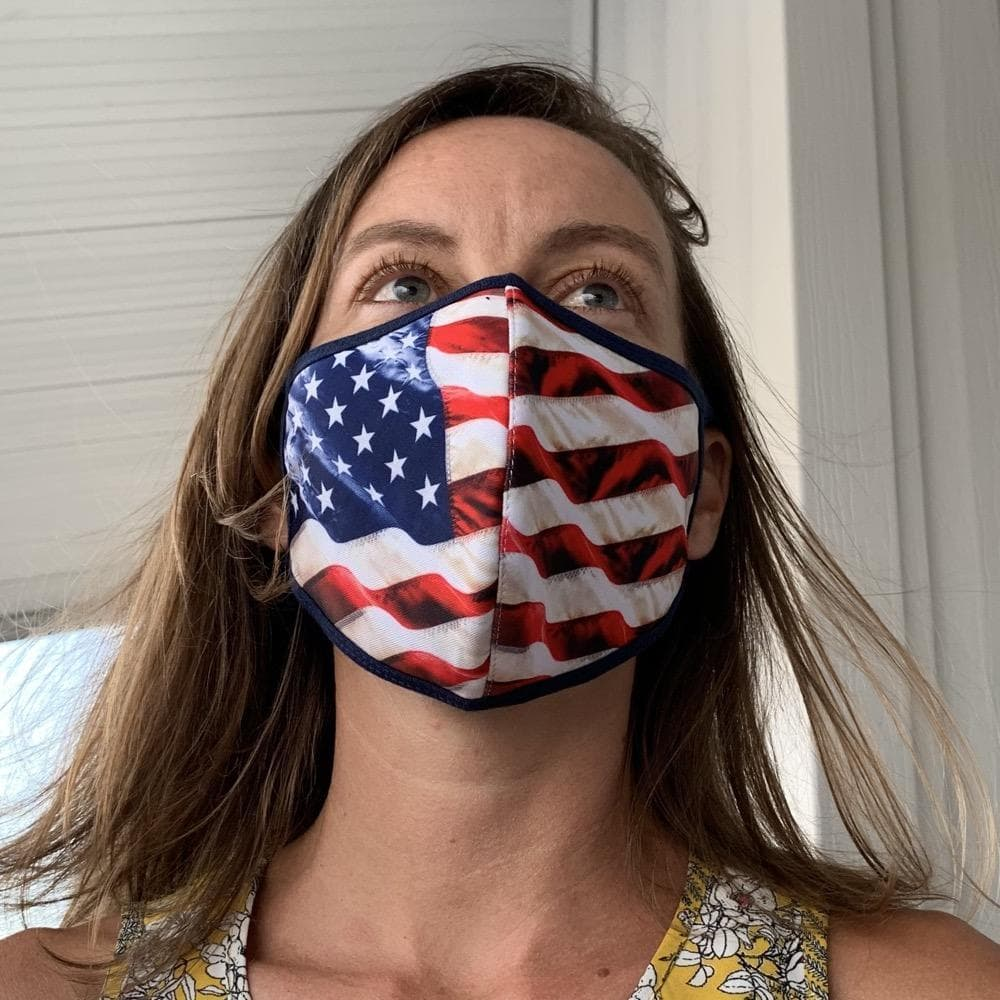 This washable face mask is made in Florida