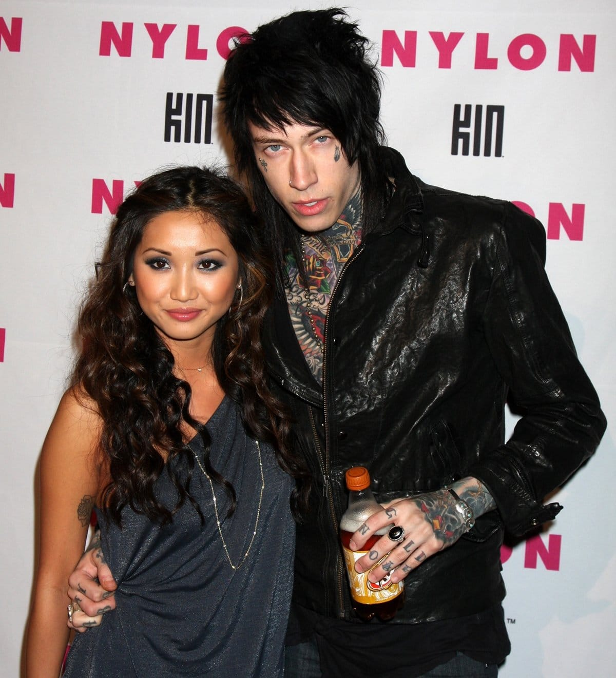 Brenda Song dated Miley Cyrus's brother Trace Cyrus for seven years