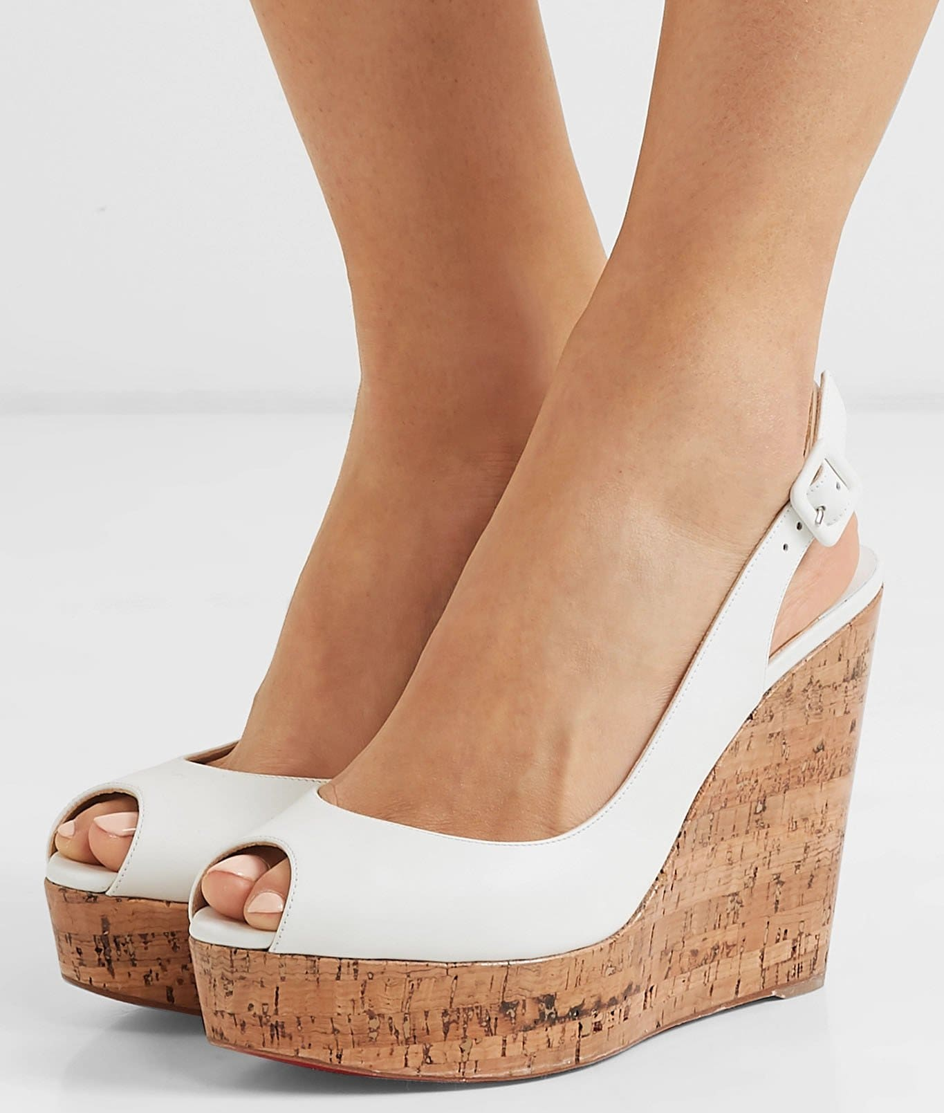 Cork wedge sandals are the most common style of wedge shoes and most popular during spring and summer