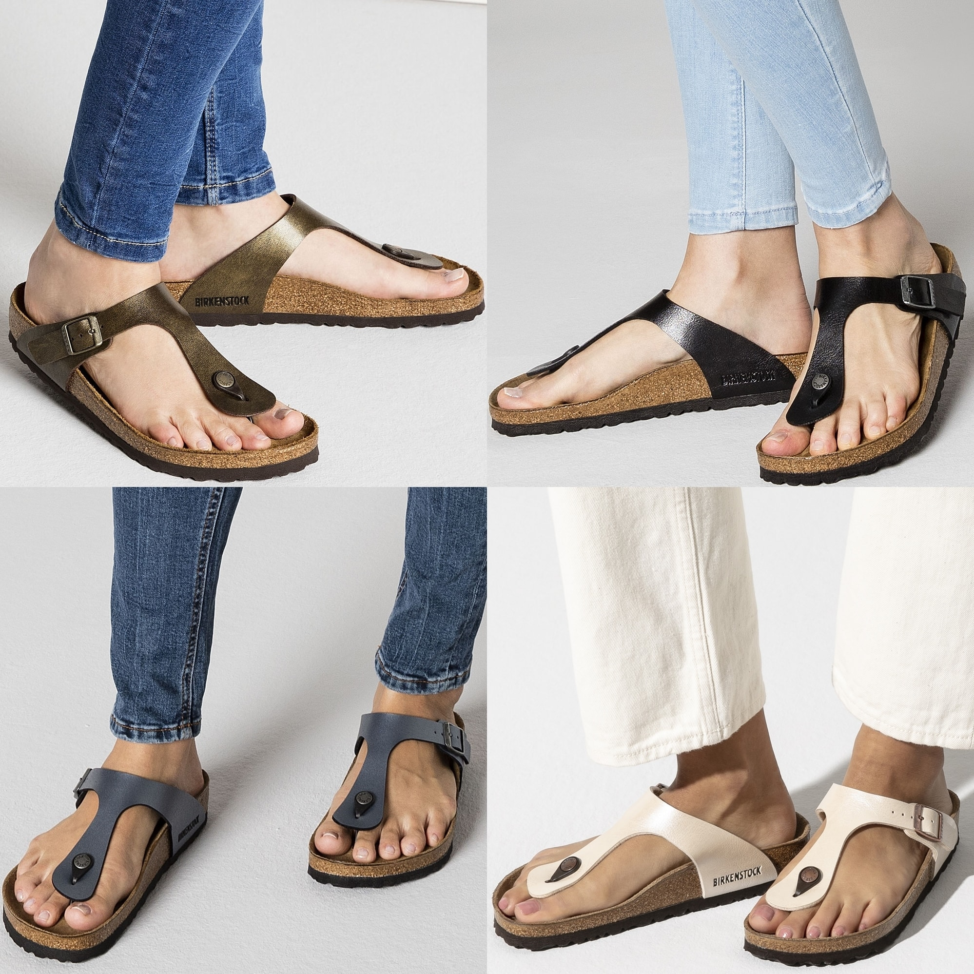 This sandal pairs a buckled strap with a legendary footbed that mimics the shape of the foot with excellent support