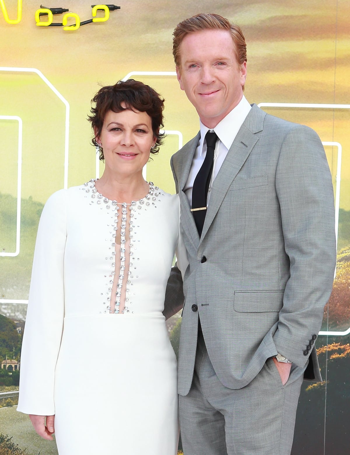 """Helen McCrory and her husband Damian Lewis attend the """"Once Upon a Time... in Hollywood"""" UK Premiere"""