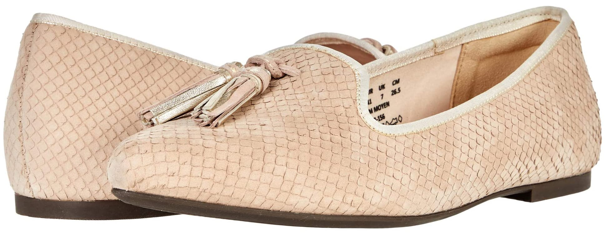 The Sadie flats from Hush Puppies come in an array of bright and neutral colors