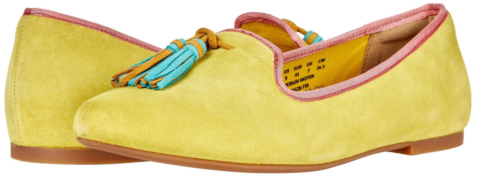 Offering both comfort and style, Hush Puppies Sadie features soft cotton twill lining, soft leather socklining, and the label's Bounce footbed