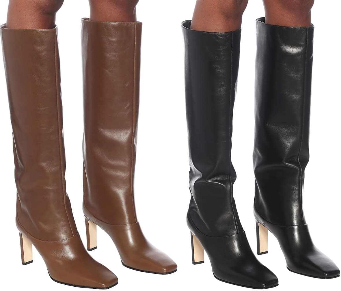 These buttery leather Mahesa knee-high boots from Jimmy Choo are a sleek and sophisticated investment