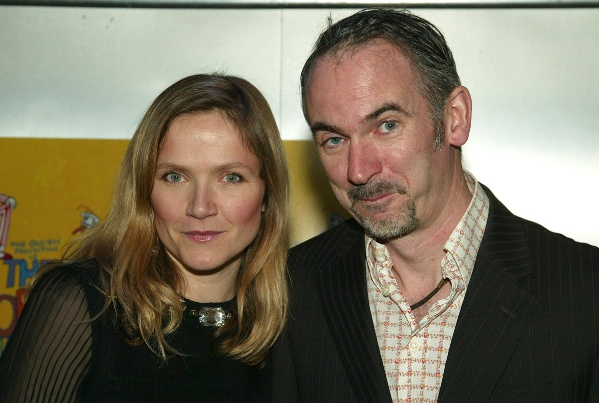 """Jessica Hynes and Paul Ritter attend the Broadway opening night of """"The Norman Conquests"""""""
