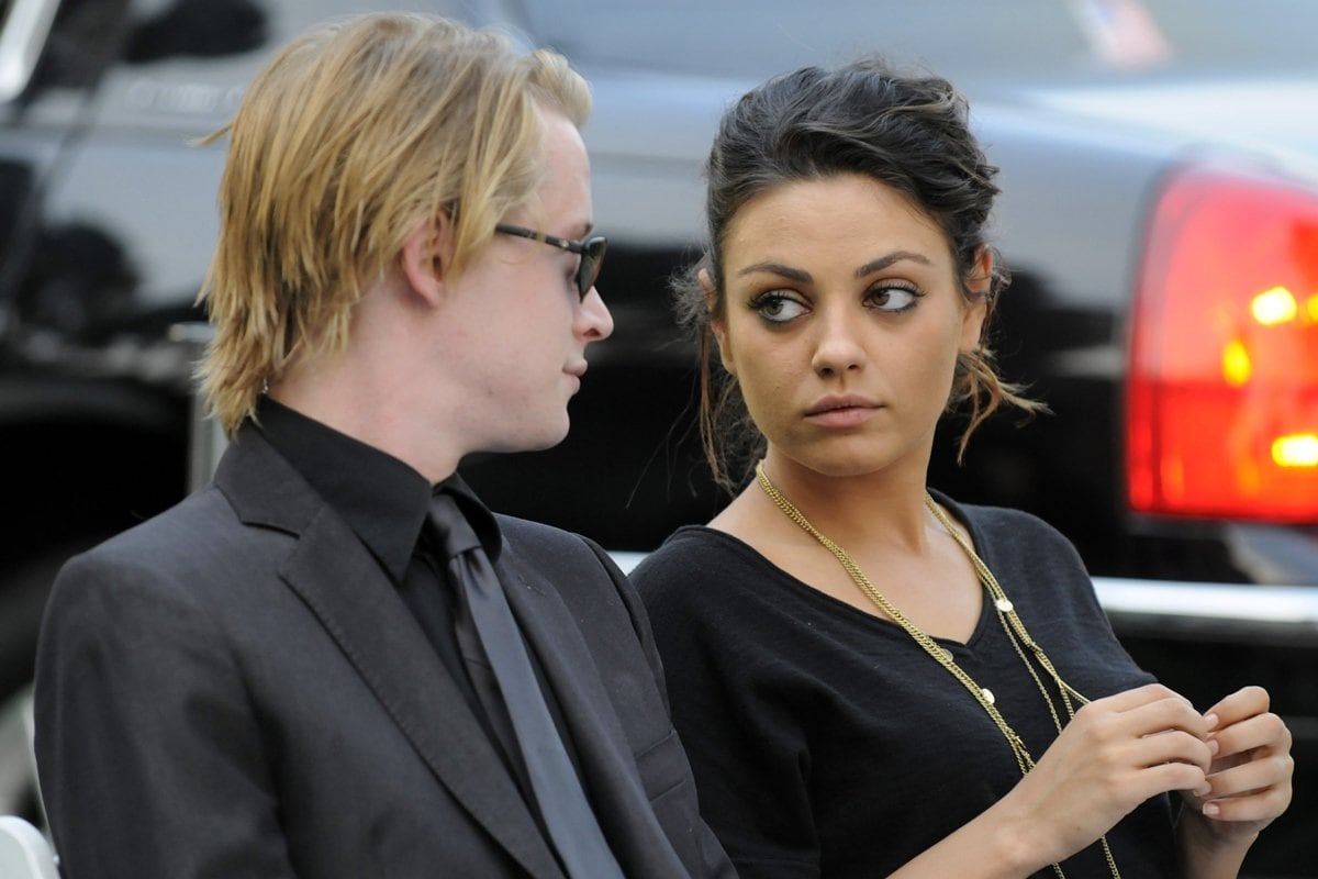 Mila Kunis and Macauley Culkin dated for 8 years until breaking up at the beginning of 2011