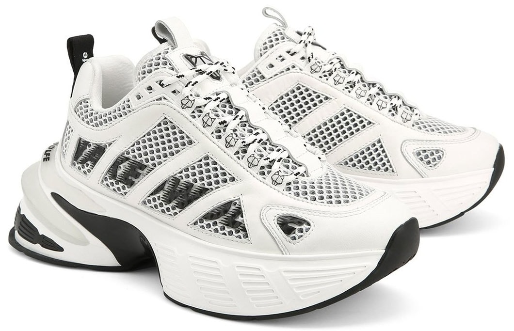 The Sicko features a mesh and leather upper with a Naked Wolfe speed logo design on the sides