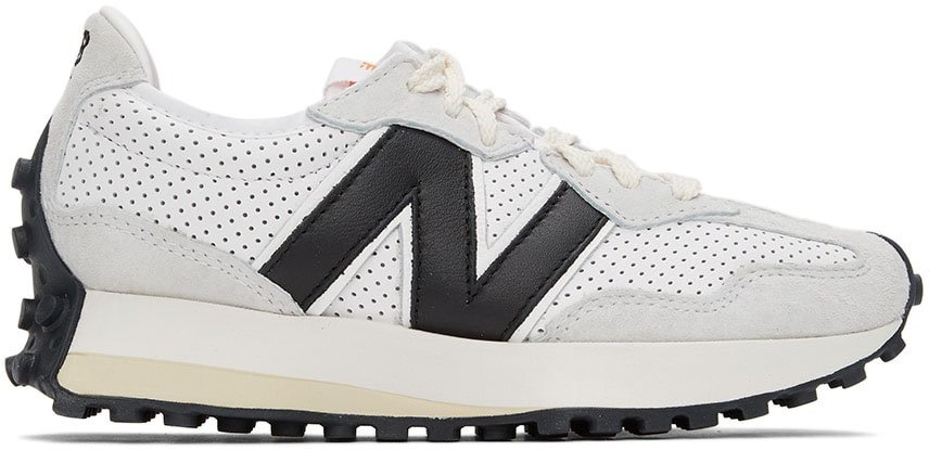 An upgraded version of the retro-inspired sneakers from New Balance and Casablanca