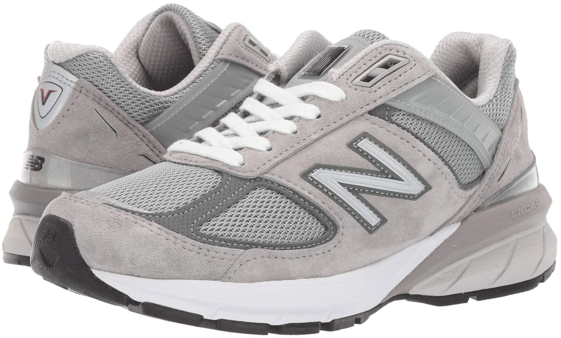 The New Balance Made in US 990v5 has ENCAP midsole cushioning for all-day comfort and support