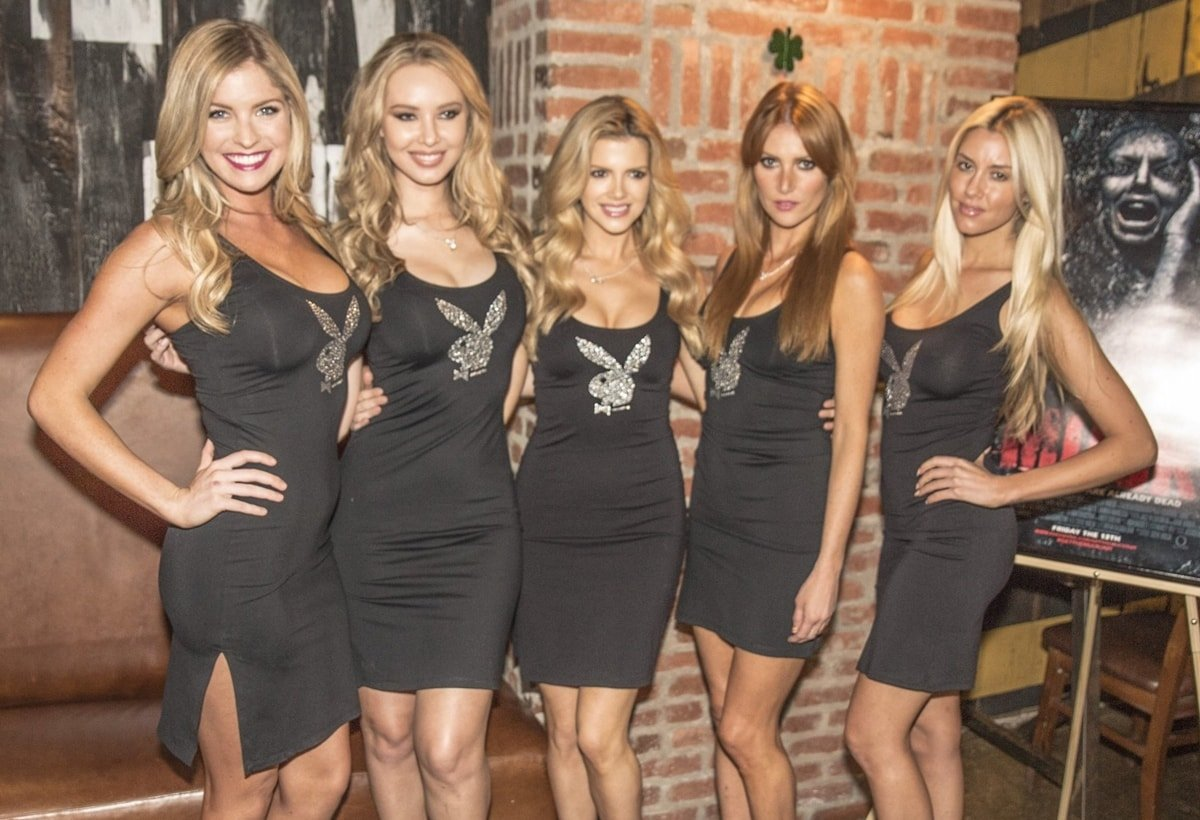 Playboy Playmates Harley Lauren, Tiffany Toth, Stephanie Branton, Gia Marie, and Heather Rae Young