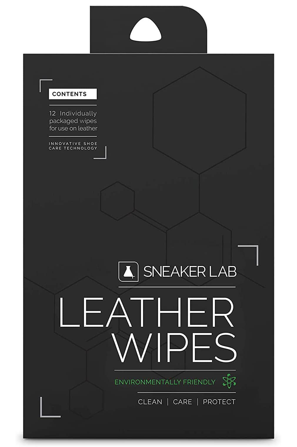 Protect and nourish your leather sneakers or boots with Sneaker Lab's water-based cream shoe wipes