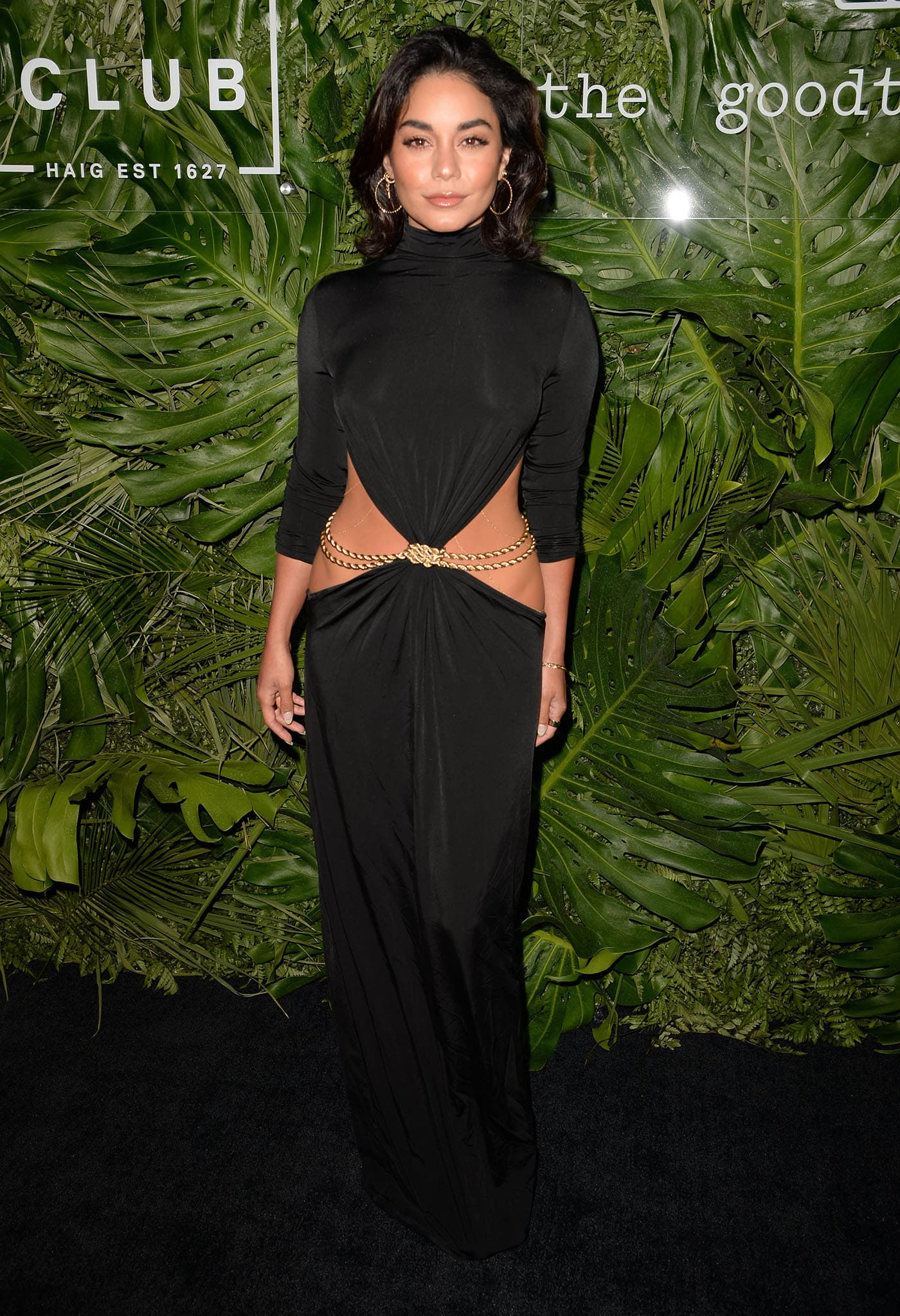 Vanessa Hudgens attends the Inter Miami CF Season Opening Party at The Goodtime Hotel on April 16, 2021