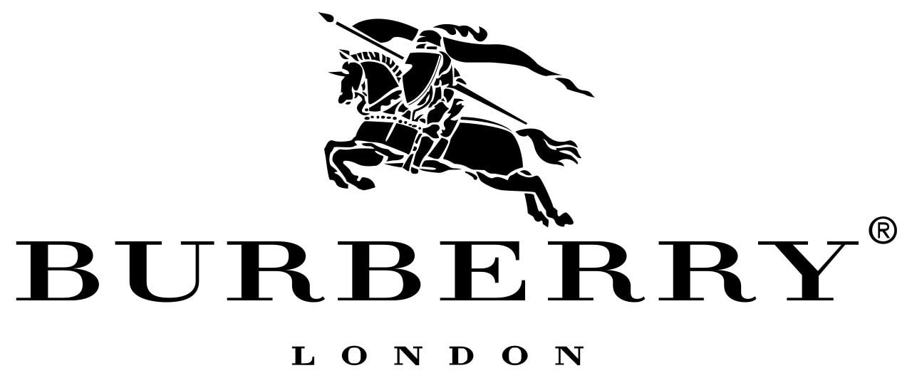 Aside from the equestrian knight logo, Burberry is also famous for its signature check design