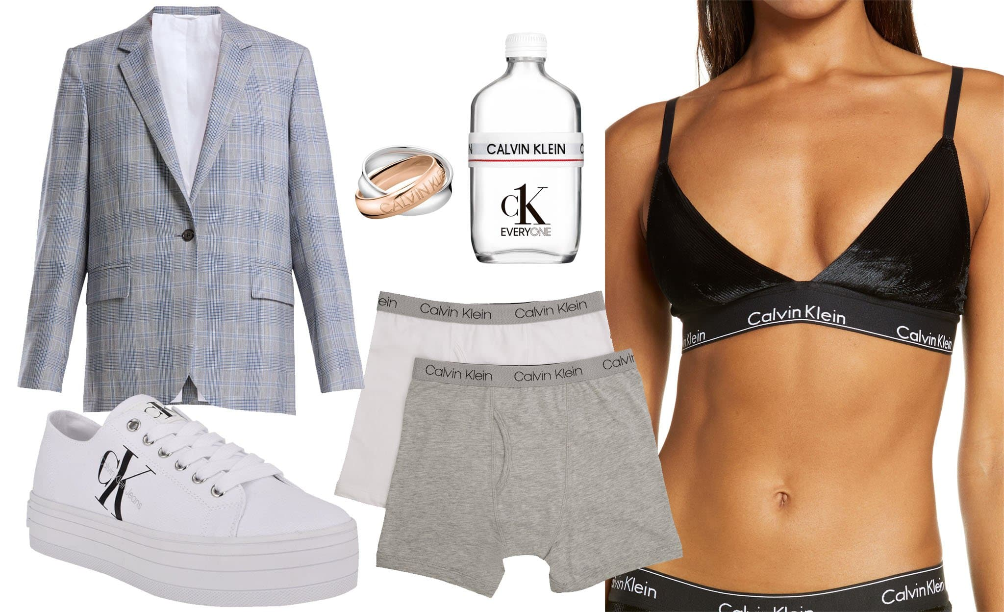Calvin Klein is a lifestyle brand that offers not just underwear but also clothes, accessories and fragrances