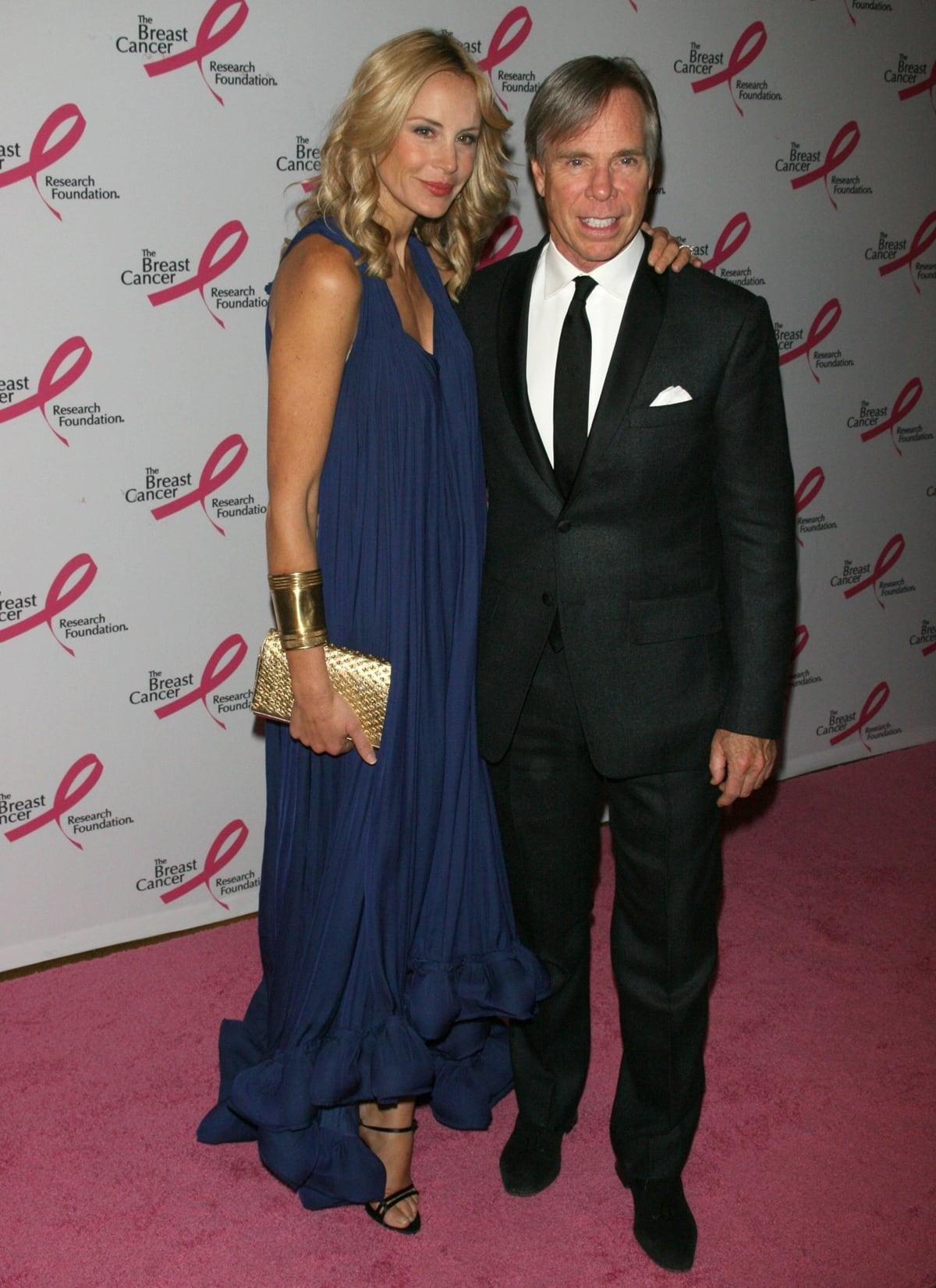 Turkish American fashion designer Deniz Caroline Erbuğ married Tommy Hilfiger in 2008