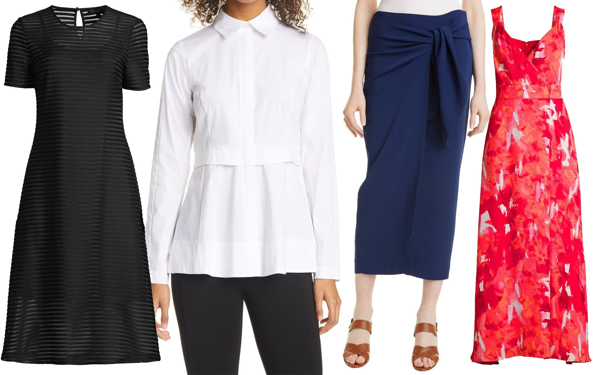 Donna Karan is known for its sleek and modern clothing pieces