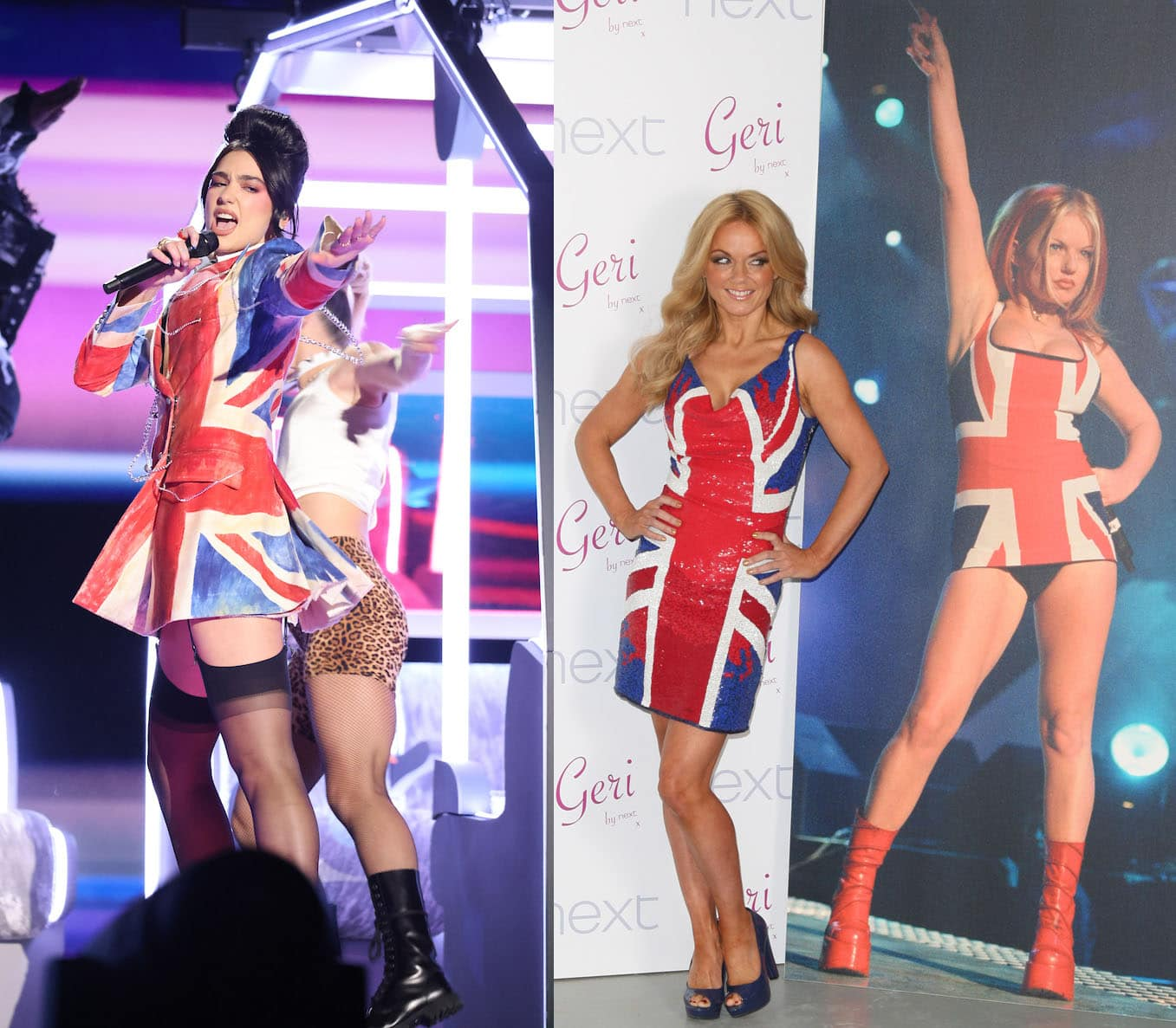 Dua Lipa performs Future Nostalgia medley in Geri Halliwell-inspired Union Jack outfit