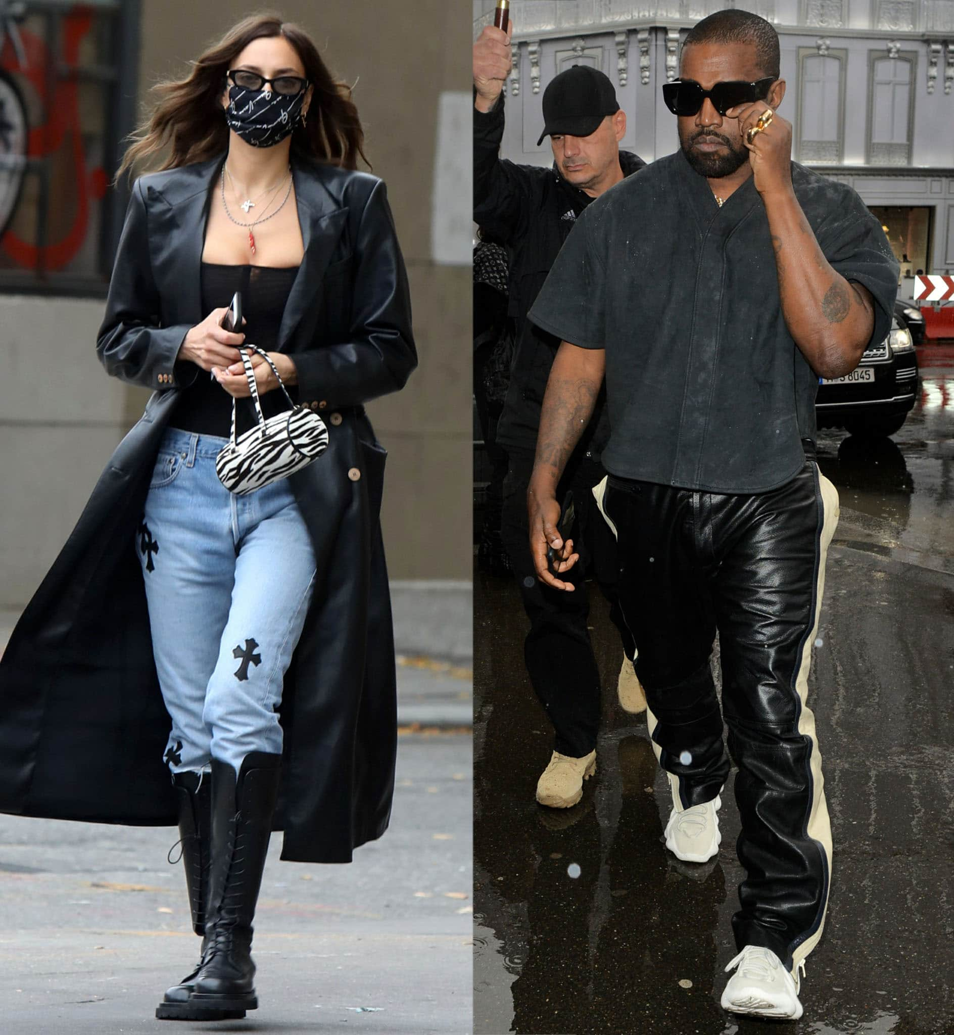 Irina Shayk and Kanye West are rumored to be dating after Deuxmoi insider spills tea