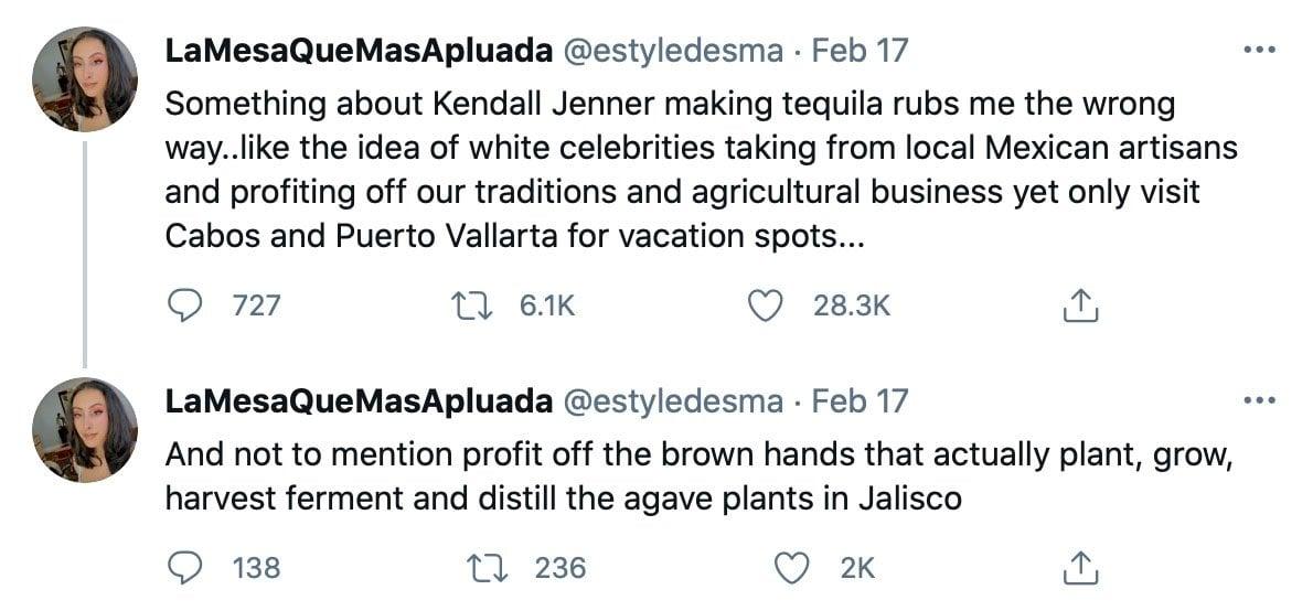 Kendall Jenner faces backlash on social media over her 818 Tequila business venture