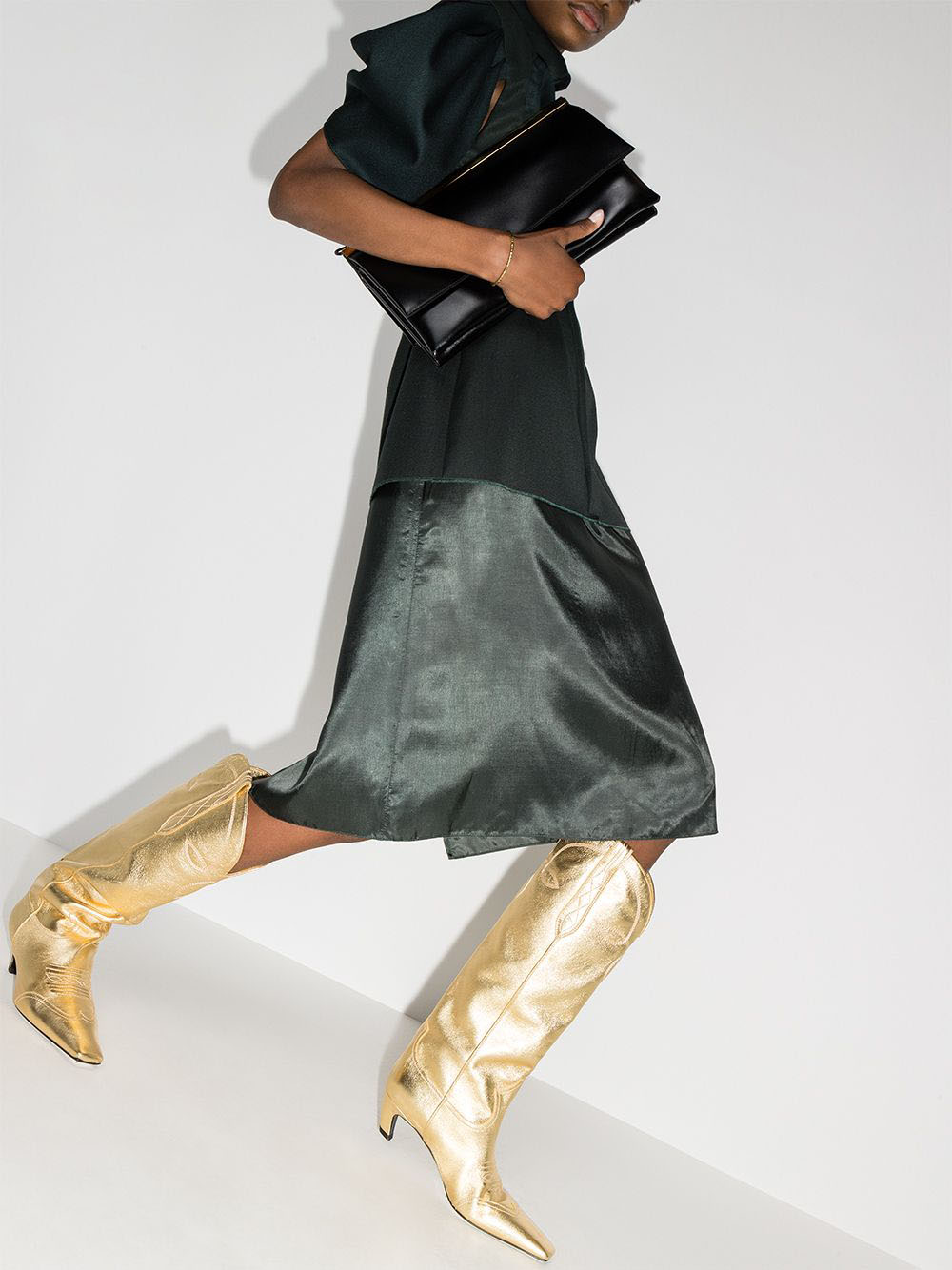 The Khaite Dallas is also available in knee-high silhouettes