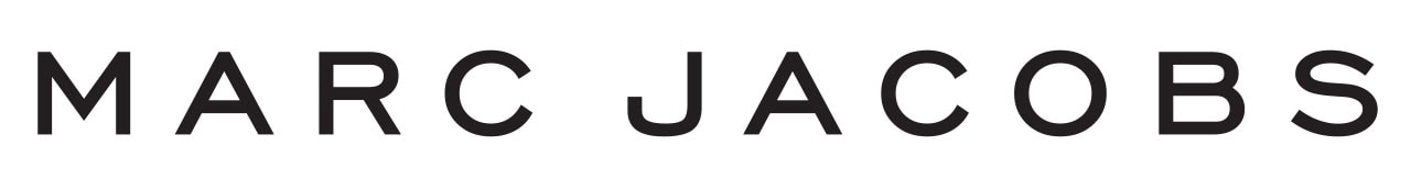Fashion designer Marc Jacobs' logo is a minimalist wordmark done in Engravers Gothic font