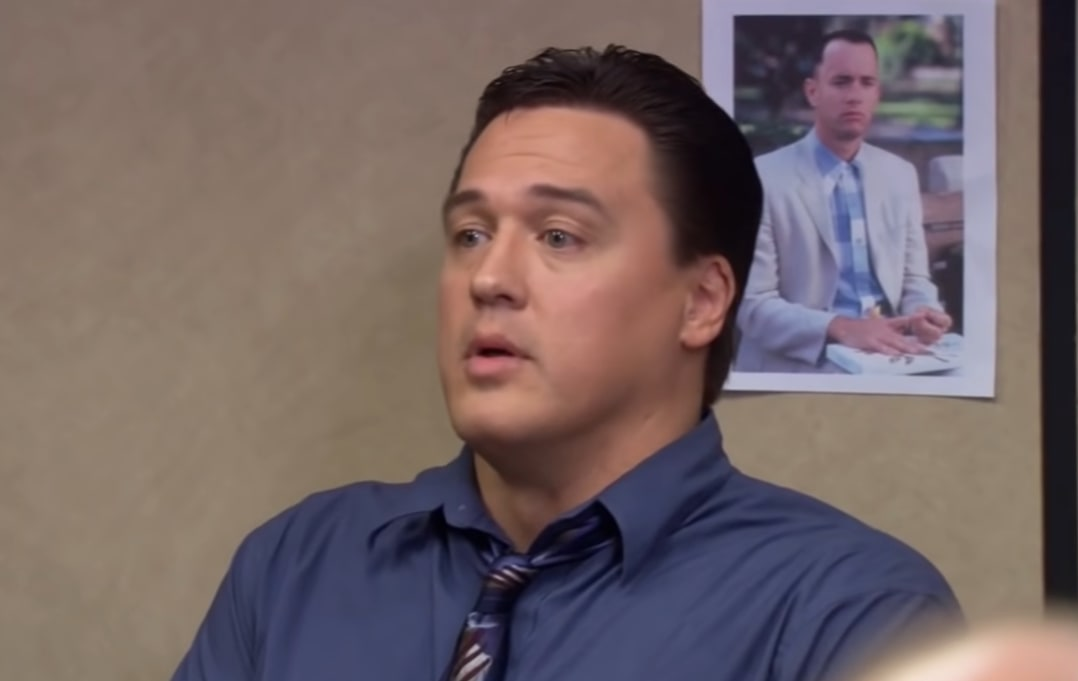 Mark York as property manager Billy Merchant in NBC's The Office