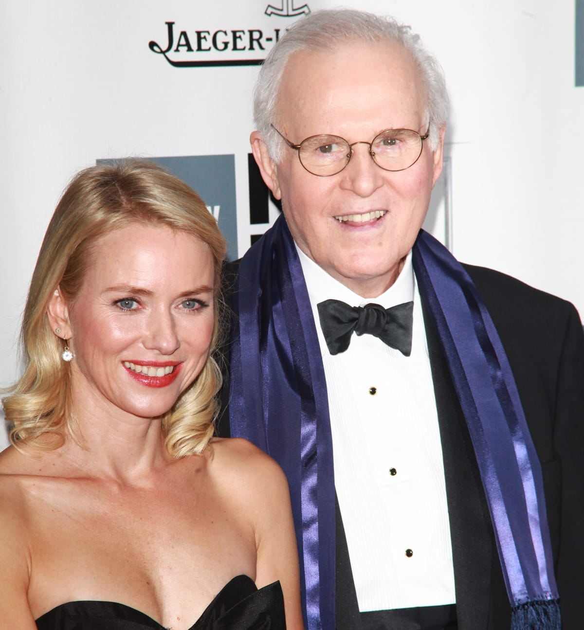 """Naomi Watts and Charles Grodin attend the opening night gala world premiere of """"Captain Phillips"""""""