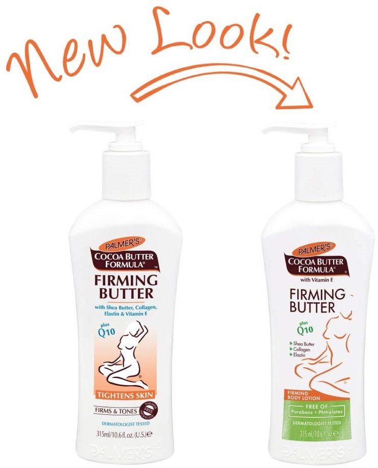 A firming body lotion designed to help visibly restore your body after pregnancy or weight loss