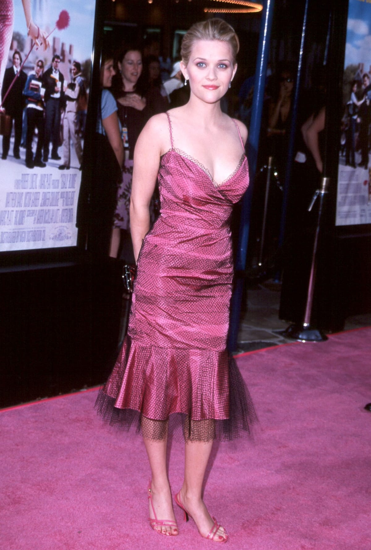 Actress Reese Witherspoon attends the premiere of Legally Blonde