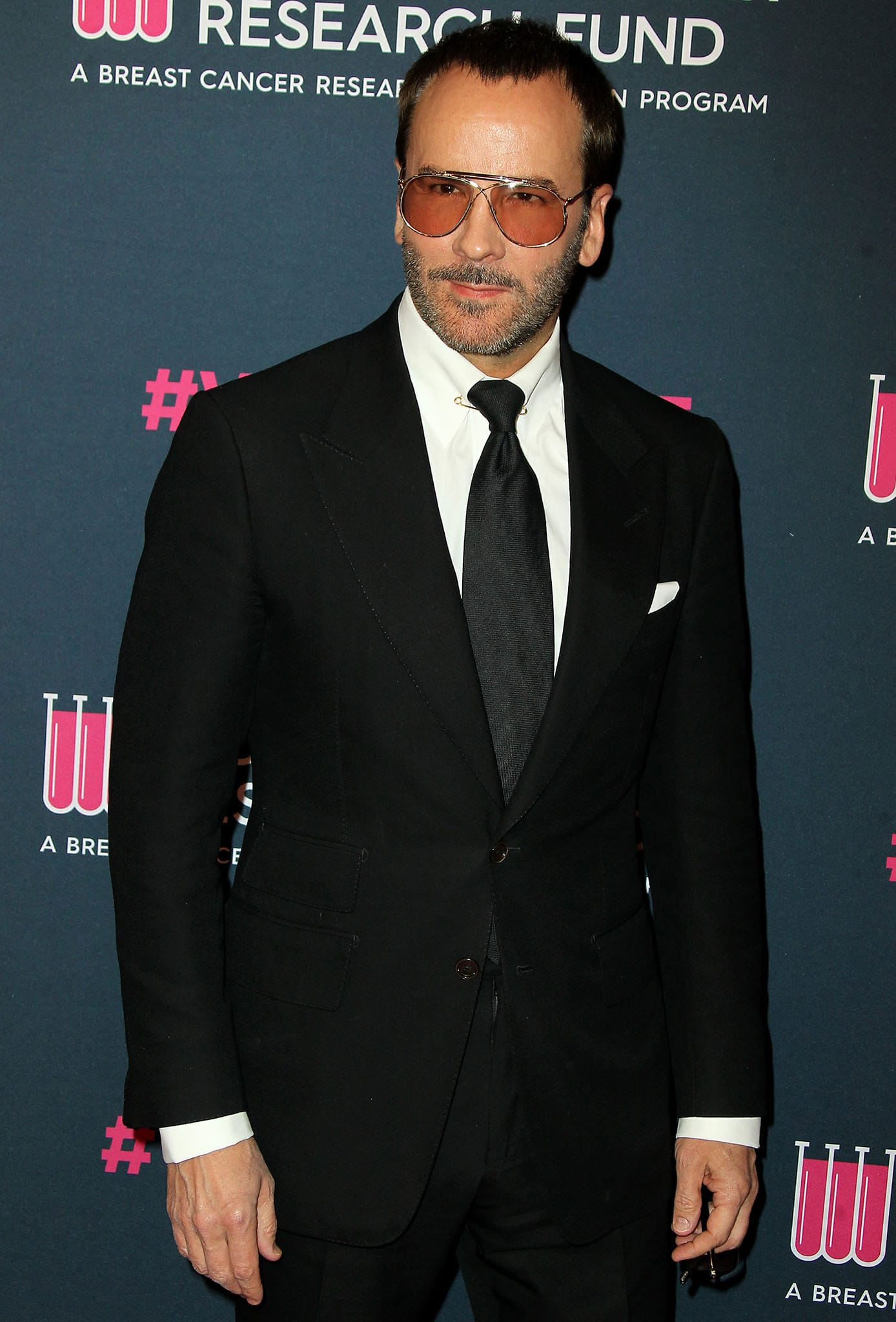 Fashion designer Tom Ford at the Unforgettable Evening event benefiting the Women's Cancer Research Fund on February 27, 2020