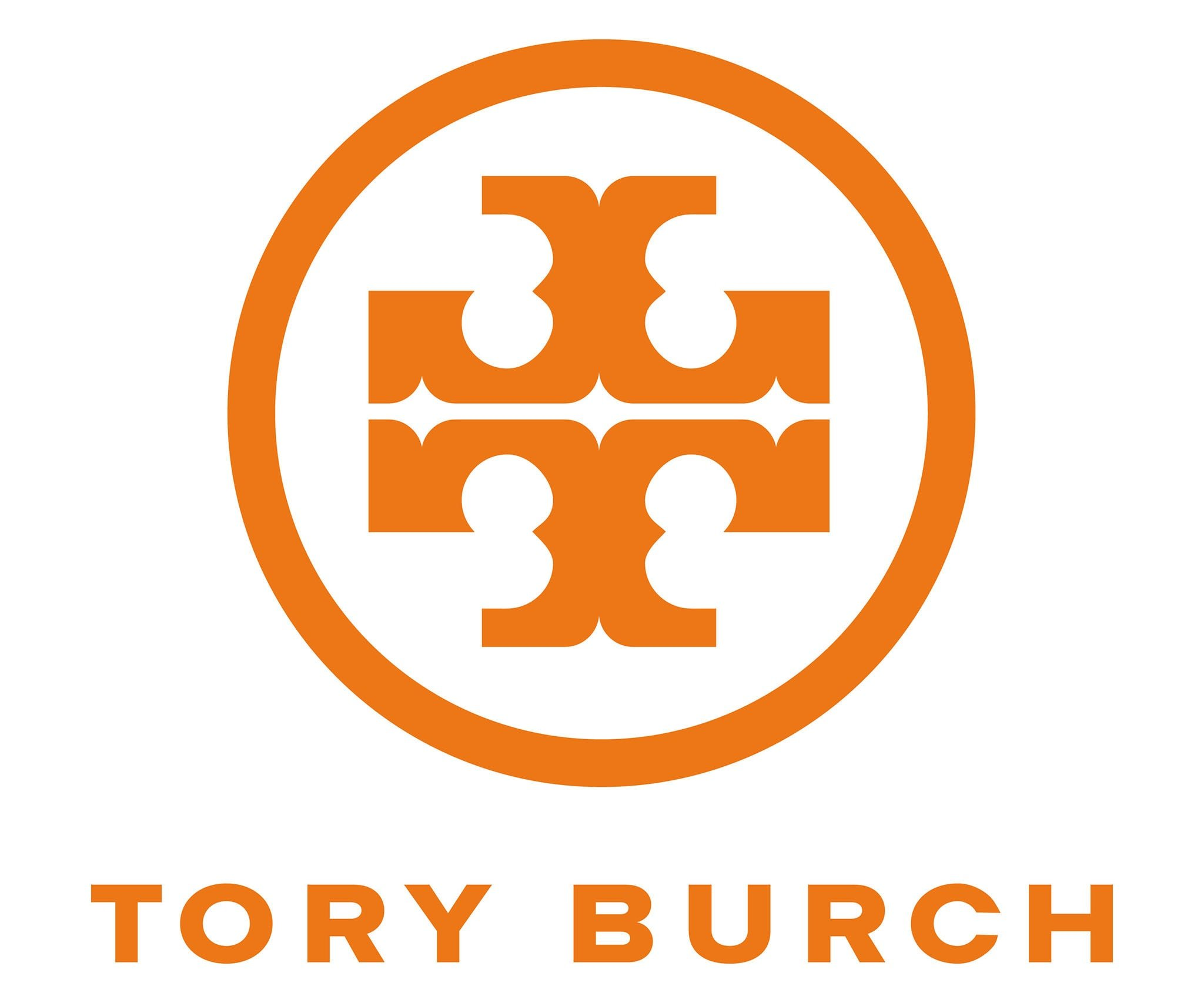 Tory Burch commissioned a design firm to create her logo, inspired by the works of Moroccan and interior designer David Hicks