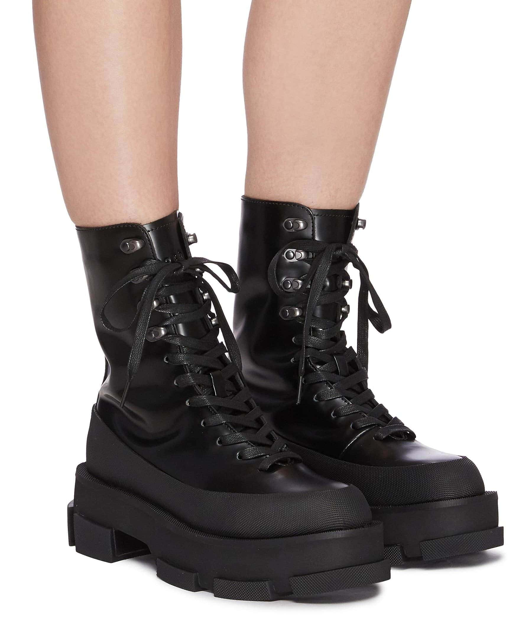 Both's Gao combat boots are crafted from spazzolato leather with rubber trims