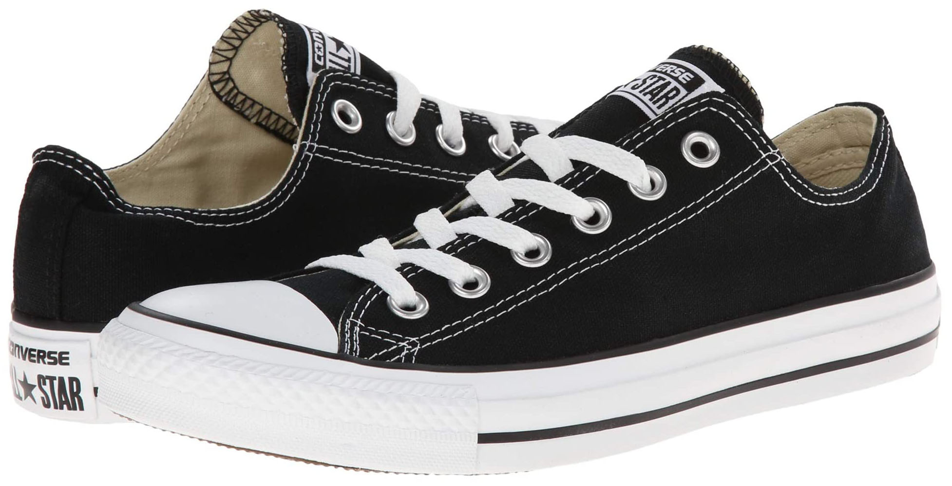 A classic-favorite casual shoe made from canvas with Converse's signature rubber outsole