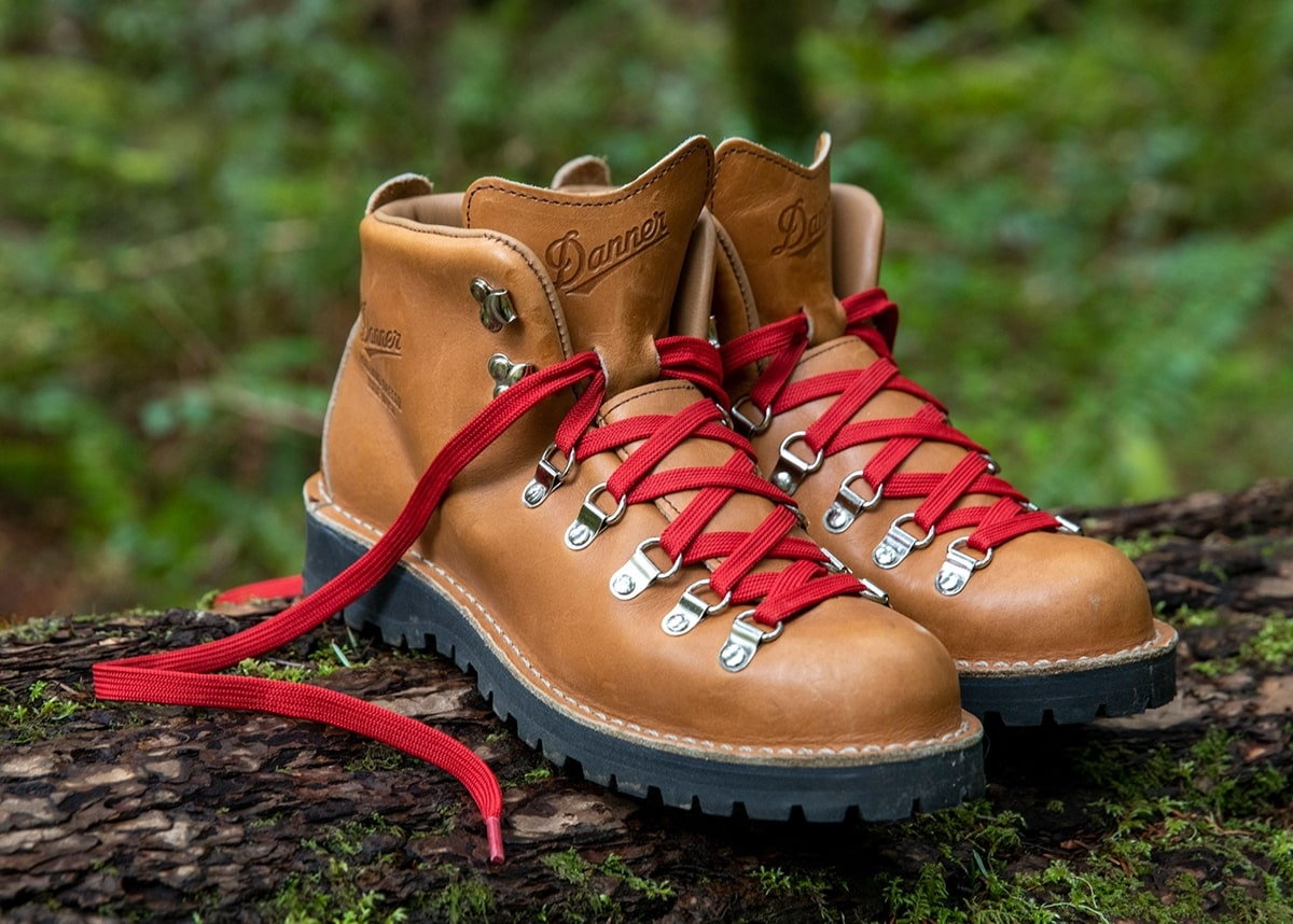 Danner's popular Mountain Light hiking boot is built by hand in Portland, Oregon