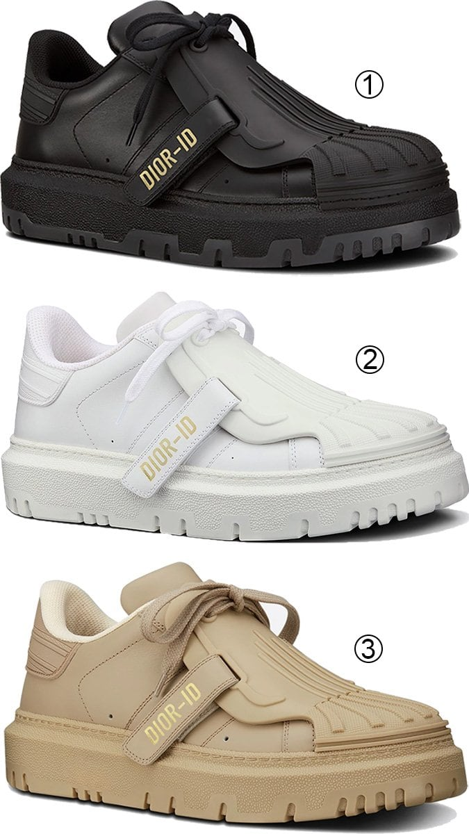 3 best chunky women's Christian Dior sneakers